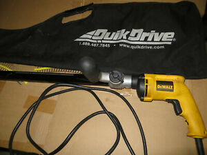 Quik Drive Pro 250 Qdpro250g2 Autofeed Screw Driving System Lighly Used