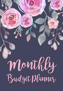 Monthly Budget Planner Expense Finance Budget By A Year Monthly Weekly Daily