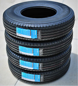 4 New Fortune St01 St 235 80r16 Load E 10 Ply Trailer Tires