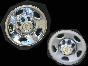 Chevy Express Van Chrome Wheel Skins Simulators 16 Fits 8 Lug 2500 And 3500
