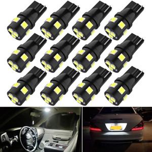194 Led Car Bulbs Super Bright T10 Wedge 168 2825 175 Bulbs For License Plate Of