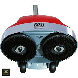 Floor Scrubber Machine Commercial Industrial Sweeper Buffer Tile Polisher Grout