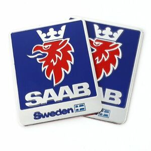 Car Sticker Emblem Badge Decals For Saab 9 3 9 5 93 95 900 9000 Sweden Decals