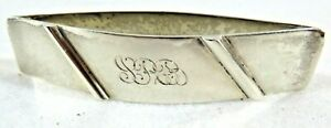 Sterling Napkin Ring By Leonore Doskow Early 20th Century