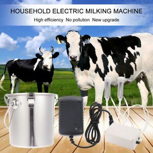 1set Us Plug 5kg Electric Milking Machine For Cow Goat Sheep