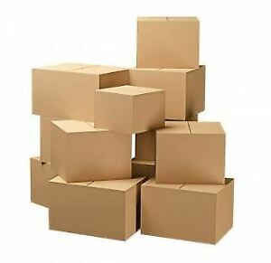Shipping Box Bundle 25 Total Assorted Sizes 14x6x6 12x9x3 9x6x6 8x4x4 More