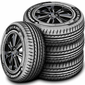 4 New Federal Formoza Az01 215 60r17 96h A s Performance Tires