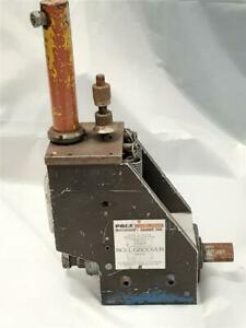 Pace Machinery Group 1041 Roll Groover