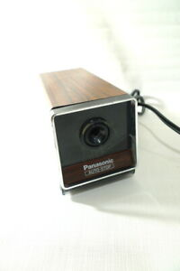 Panasonic Electric Pencil Sharpener Kp 120 Auto Stop Faux Wood Grain Finish