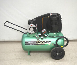 Speedaire 4b227d 5 hp 20 gal Air Compressor 125 psi 5 7 scfm Cast iron series