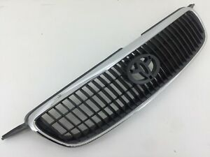 Front Hood Grille Fit For Toyota Corolla 2001 2002 2003 2004 Altis Chrome Grill