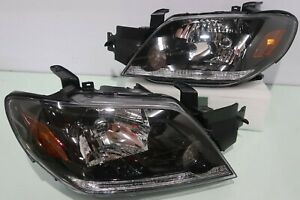 For Mitsubishi Outlander 2003 2005 Front Head Lights Lamp 1 Pairs Left Right