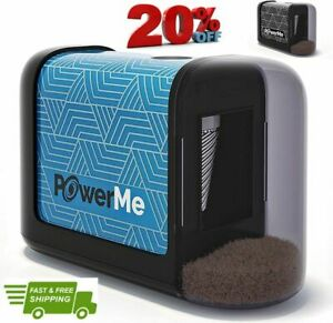 Powerme Electric Pencil Sharpener Battery Operated For Home Office School