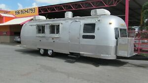 1975 Airstream A Real Headturner Fully Loaded Food Trailer Truck Concession