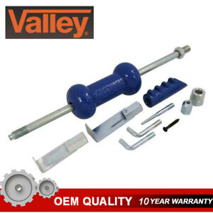 Valley Dent Puller Slide Hammer Kit 9pc 5lb Auto Body Repair Tool Sliding Kit