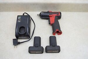 Snap On Ct761a 3 8 Drive 14 4 Volt Lithium Impact Kit W 2 Batteries Charger