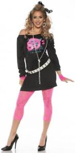 Awesome 80#x27;s Adult Female Costume $29.99