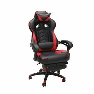 Respawn 110 Bonded Leather Reclining Gaming Chair With Black Casual