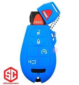 1x New Key Fob Remote Fobik Silicone Cover Fit For Jeep Commander G Cherokee