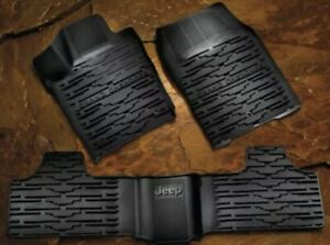Mopar Accessories 82212172ac Slush style Floor Mats 2011 12 Jeep Grand Cherokee