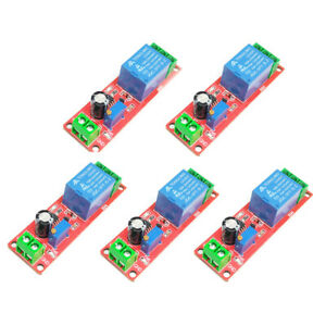 5pcs Time Delay Relay Control Switch Module Ne555 Time Relay Shield Timing Relay