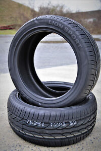 2 New Leao Lion Sport 225 45r17 94w Xl Performance Tires