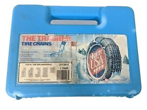 Peerless Vintage Tire Snow Chains Unused P 205 60 16 245 40 17 225 55 15 215 65