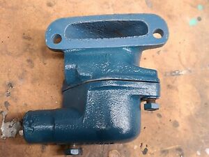 1953 1954 Corvette Upper And Lower Thermostat Housing Ncrs Correct