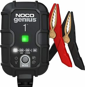 Noco Genius1 1 amp Fully automatic Smart Charger 6v And 12v Battery Charger B