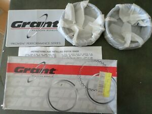 Grant Cast Piston Ring Set 4125 4 125 035 Brand New Small Block Chevy Maybe