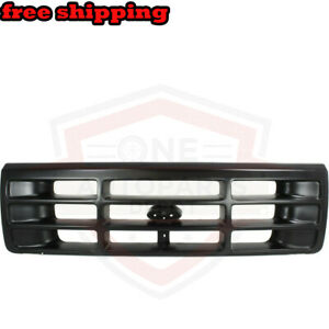 New Grill Grille Assembly Front For 92 97 Ford F 150 92 96 Ford Bronco Fo1200172