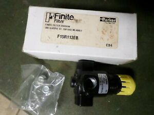 2 Parker Finite Filter 15r113eb Regulator Eb4