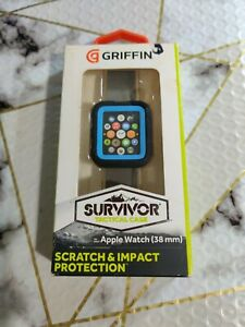 Griffin Technology Survivor Tactical Cover for Apple Watch 38mm Blue $2.99