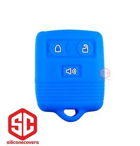 1x New Key Fob Remote Silicone Cover Fit For Ford Lincoln Mercury Mazda