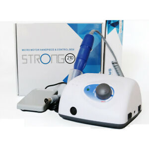 Strong 210 105l Micromotor Nail Art manicure Pedicure Machine dental Lab Micro