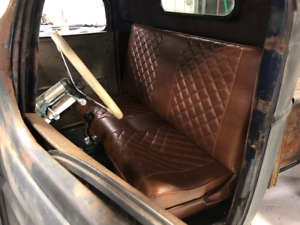 Low Back Hot Rod Bench Seat