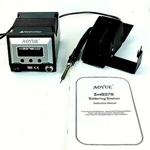Aoyue Int 9378 Soldering Station 60w Esd Safe
