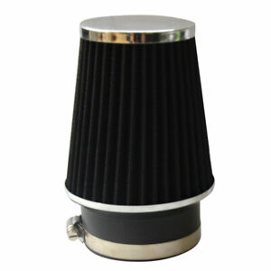 Black 3 5 89mm Air Intake Cone Replacement High Quality Air Filter Universal