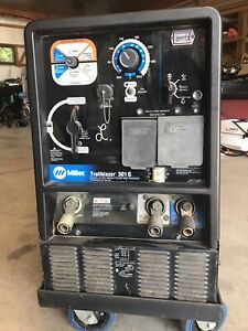 Miller Trailblazer Welder And Generator