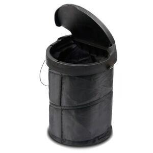 Potable Car Trash Can With Lid Leak Proof