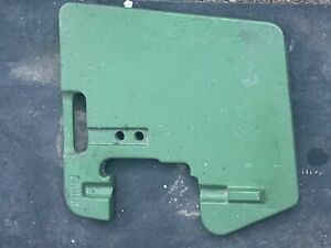 John Deere Tractor Front Suitcase 100 Lb Weight Part r58823dtag 102