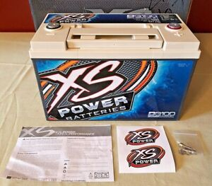 Xs Power 12 Volt Deep Cycle Agm Battery Power Cell With 5000 Max Amps D3100