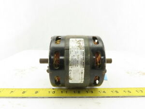 Mclean 7182 6043 1 3hp Electric Motor 3150rpm 115v 1ph Double 1 2 Shaft