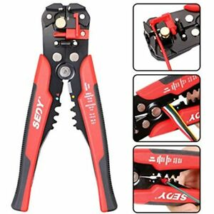 Wire Stripping Tool Self adjusting 8 quot Automatic Stripper cutting Pliers For