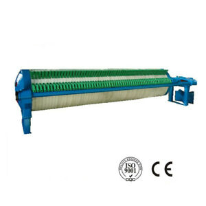800 Circular Filter Press Filter Mud wax Hydraulic Semi automatic