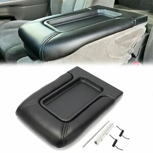 Center Console Fits 99 07 Chevy Silverado 19127364 Lid Armrest Latch Us Stock