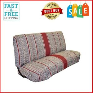 New Saddle Blanket Truck Bench Seat Cover Fits Chevrolet Dodge Ford Trucks Red