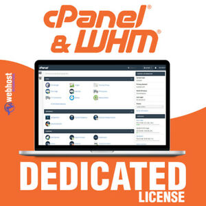 Cpanel Whm License Dedicated Unlimited Account Softaculoud Sitepad Ssl