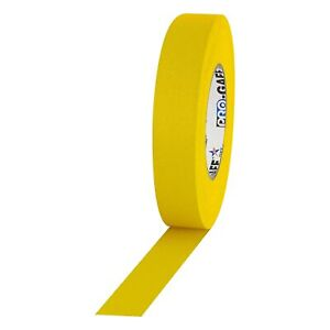 Pro Tapes Pro Gaffer Tape Yellow 1 X 55 Yds