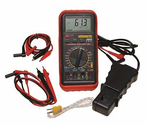Electronic Specialties Digital Automotive Multimeter Kit W Rpm Pickup